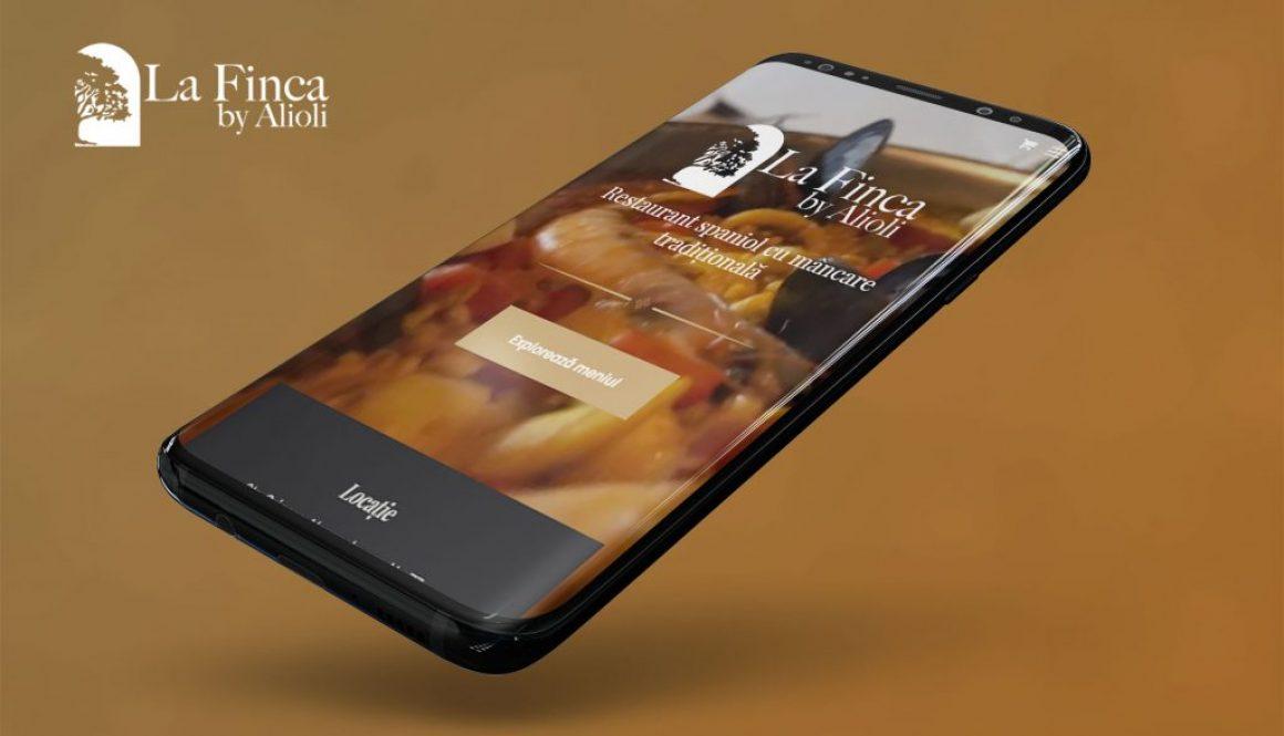 Web design și magazin online pentru Alioli – primul restaurant spaniol din București