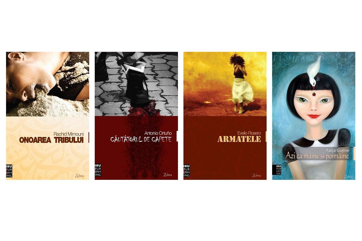 Cover design pentru Ibu Publishing - editura romaneasca