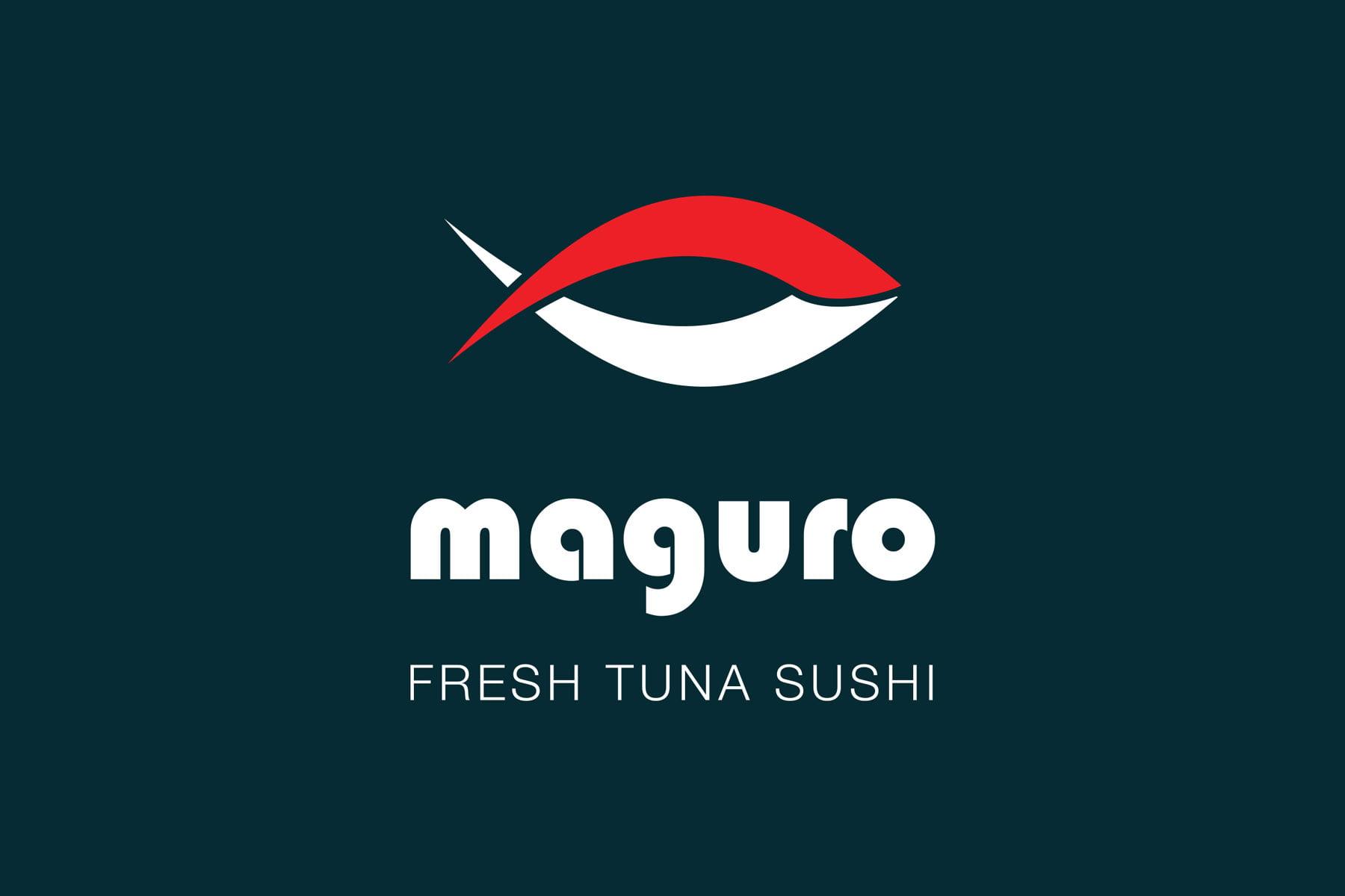 Logo design pentru Maguro - restaurant sushi cu livrare in Bucuresti