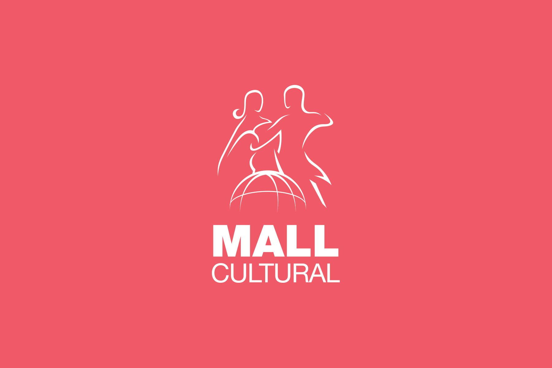 Logo design pentru Mall Cultural - un proiect de popularizare a dansului tango in malluri