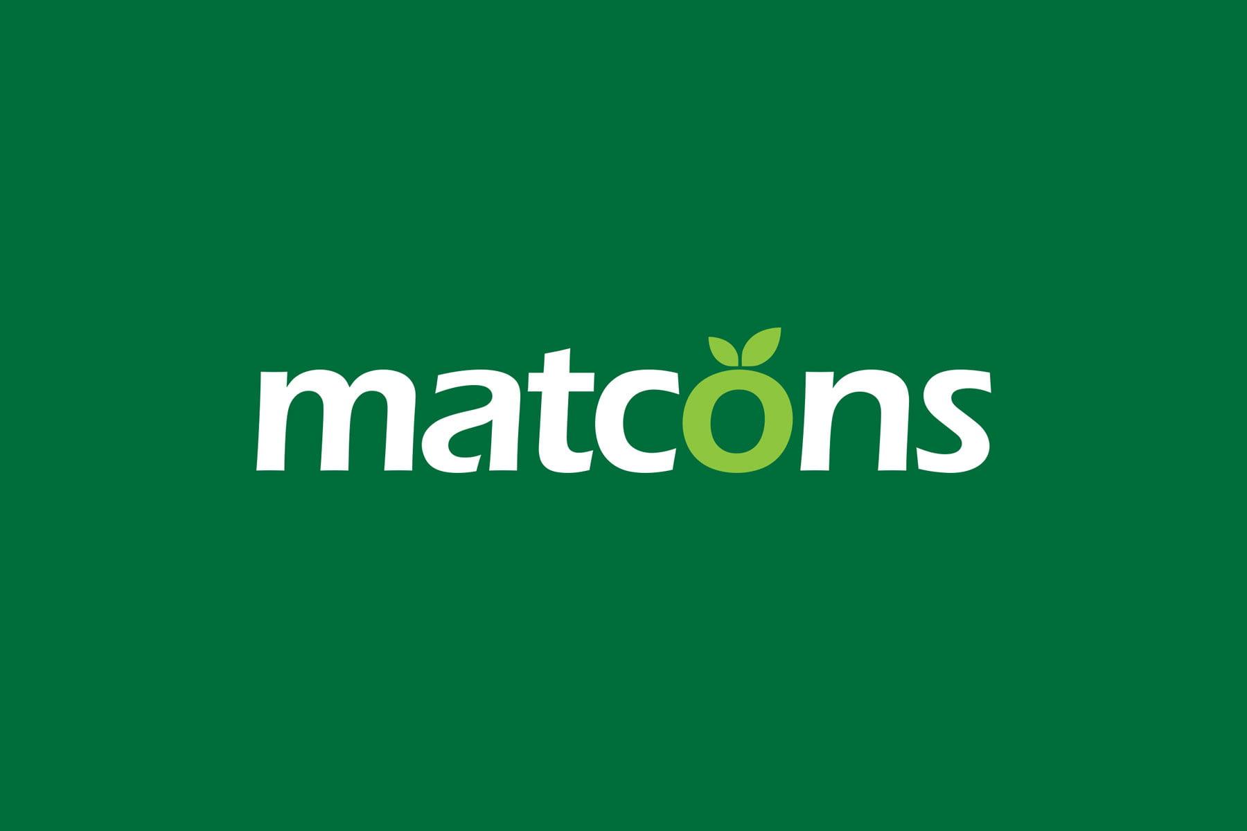 Logo design pentru Matcons - distribuitor roman de ingrasaminte chimice