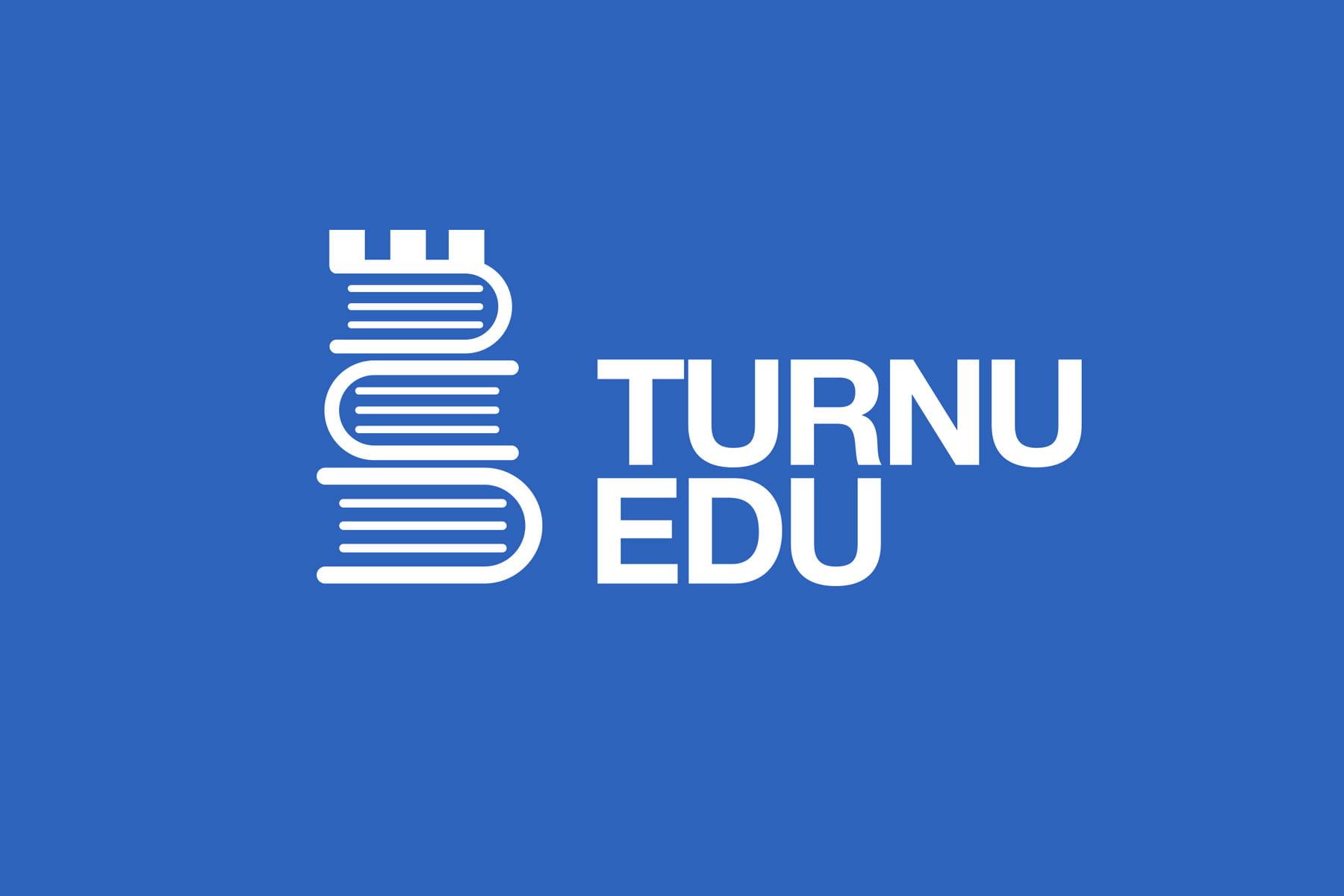 Logo design pentru Turnu Edu – platformă de comunicare pentru cadrele didactice din Turnu Măgurele